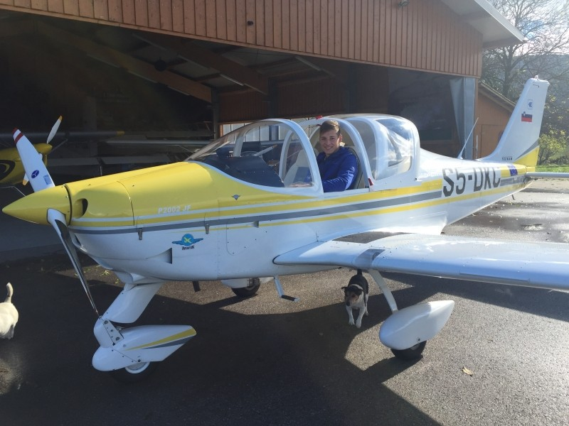 Pilot letala